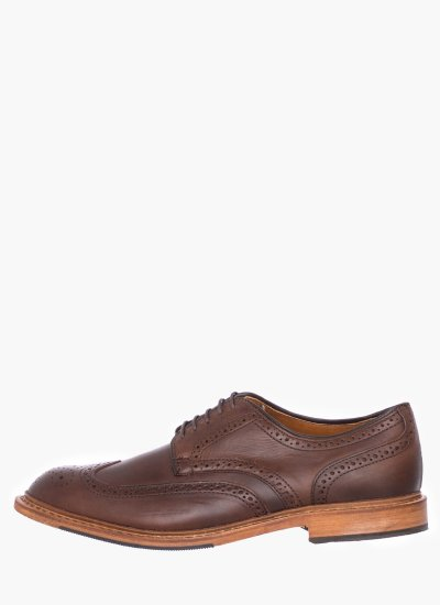 Men Shoes Alumnus Brown Leather Allen Edmonds