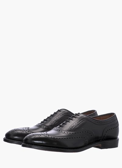 Men Shoes Mcallister Black Leather Allen Edmonds