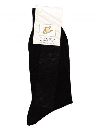 Men Socks Socks Black Cotton Mortoglou