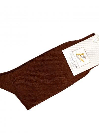 Men Socks Socks Brown Cotton Mortoglou