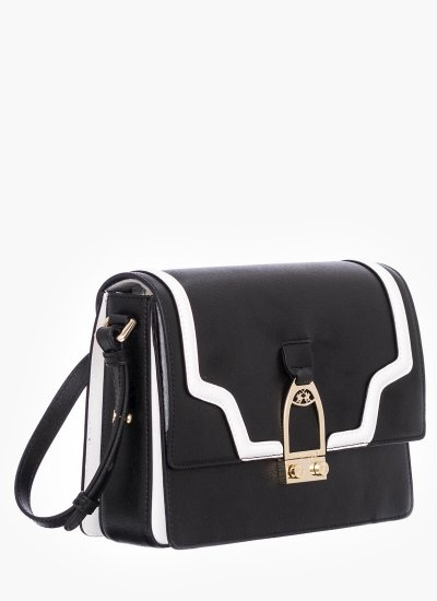 Women Bags W0810 Black Leather La Martina