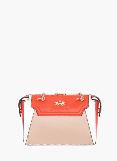Women Bags W0813 Nude Leather La Martina