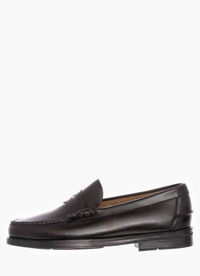 Men Moccasins B70767 Black Leather Sebago