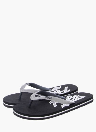 Men Flip Flops & Sandals WhitleburyII Black Rubber Ralph Lauren
