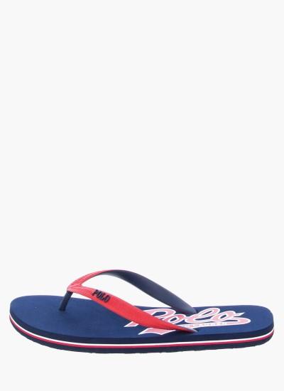 Men Flip Flops & Sandals WhitleburyII Blue Rubber Ralph Lauren