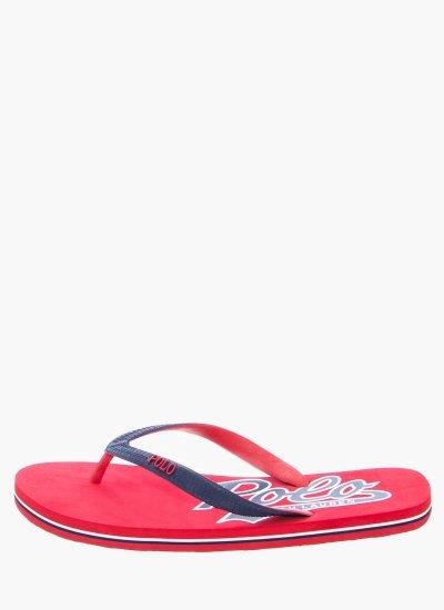 Men Flip Flops & Sandals WhitleburyII Red Rubber Ralph Lauren