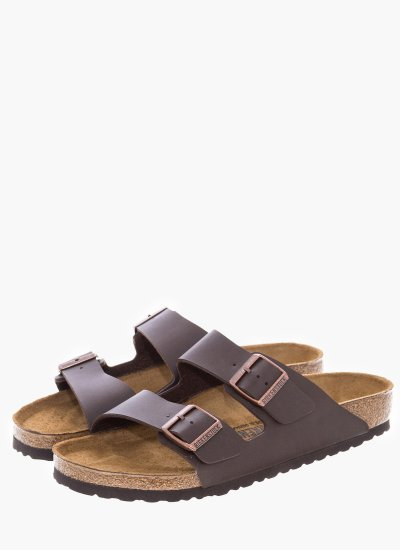 Men Flip Flops & Sandals 0051701.Arizona Brown Eco-Leather Birkenstock