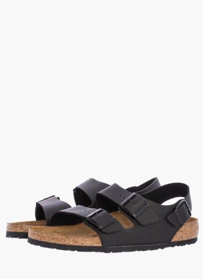 Men Flip Flops & Sandals 34791.Milano Black Eco-Leather Birkenstock