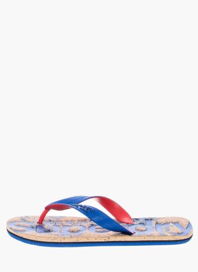 Men Flip Flops & Sandals MF3005SQF2 Blue Rubber Superdry
