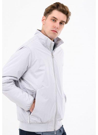 Men Jackets A1MZQ Grey Polyester Timberland