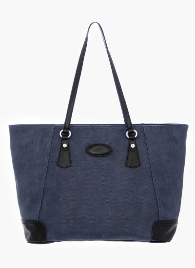 Women Bags 41W067 Blue Eco-Leather La Martina