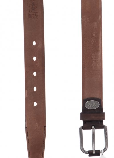 Men Belts M0033 Brown Leather La Martina