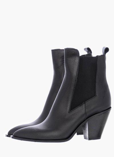 Women Boots 66 Black Leather B