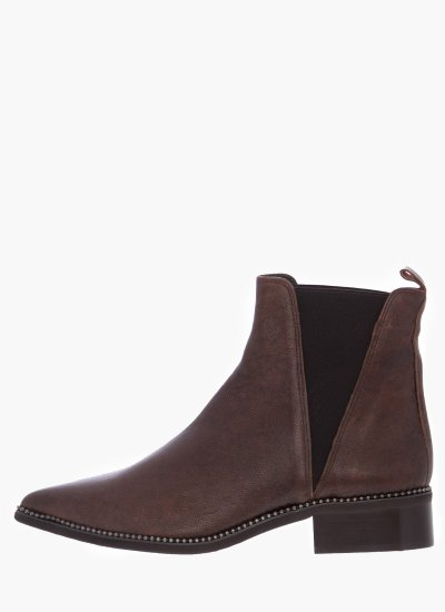 Women Boots 24279 Brown Leather Pedro Miralles