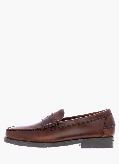 Men Moccasins B70764 Brown Leather Sebago