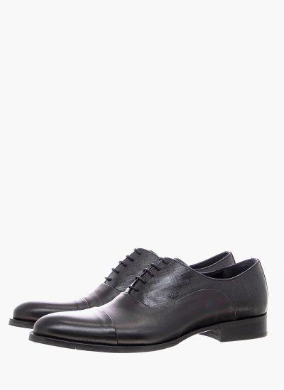 Men Shoes L5626.Chav Black Leather Boss shoes