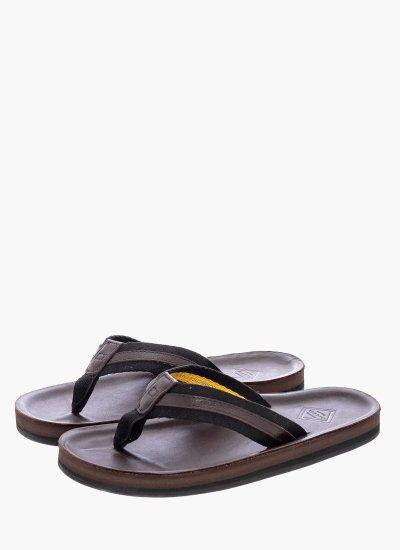 Men Flip Flops & Sandals Breeze.gs Brown Leather GANT