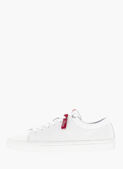 Men Casual Shoes 13632 White Leather S.Oliver