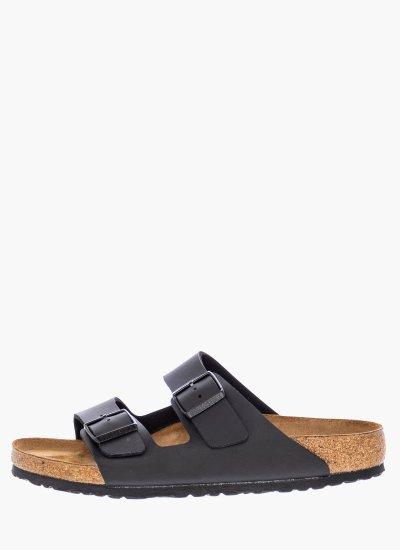 Men Flip Flops & Sandals Arizona.Bs.M Black Eco-Leather Birkenstock