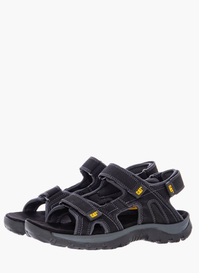 Men Flip Flops & Sandals P716653 Black Eco-Leather Caterpillar