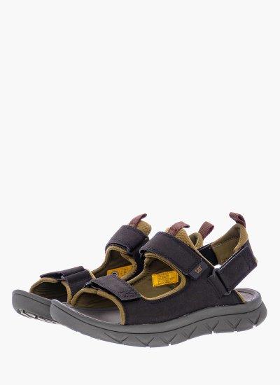 Men Flip Flops & Sandals P723152 Black Eco-Leather Caterpillar