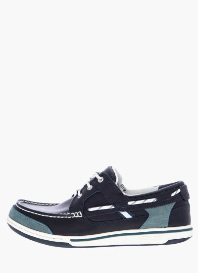 Men Sailing shoes B81023 Blue Leather Sebago