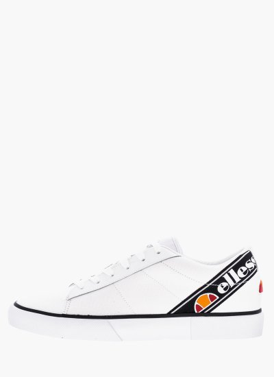 Women Casual Shoes Massimo White Ellesse