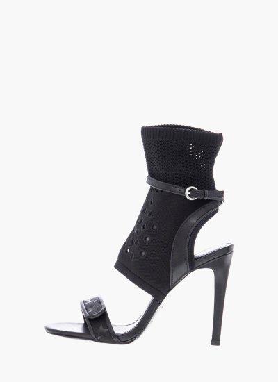 Women Sandal High Gatsby Black Ash