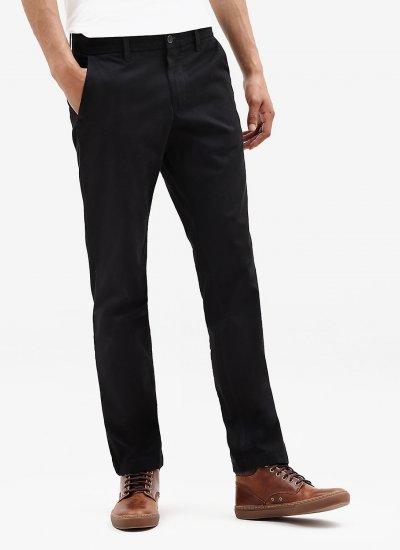 Men Pants A1NWV Black Cotton Timberland