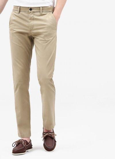 Men Pants A1NWV Beige Cotton Timberland