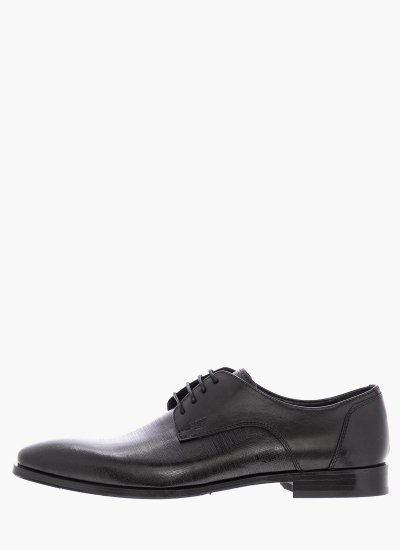 Men Shoes M4972.GLM Black Leather Boss shoes