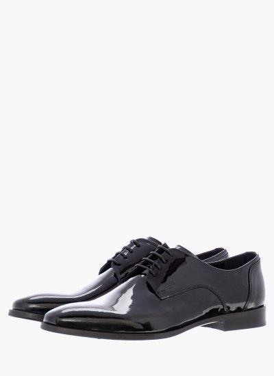 Men Shoes M4972.Pat Black Shiny Leather Boss shoes