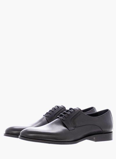 Men Shoes M6310 Black Leather Boss shoes