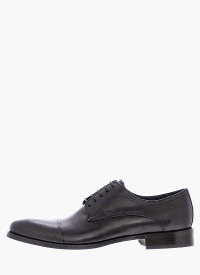 Men Shoes MM331 Black Leather Boss shoes