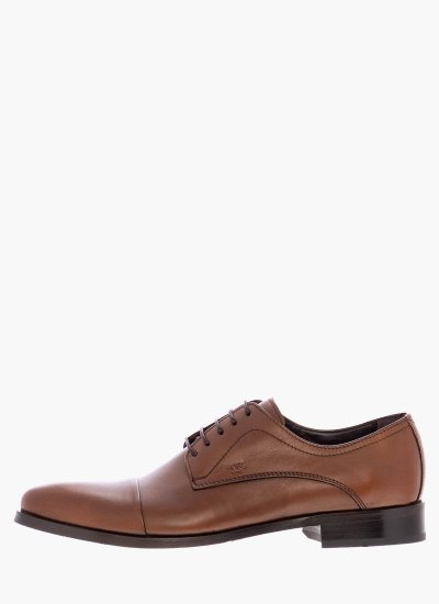 Men Shoes MM331 Brown Leather Boss shoes