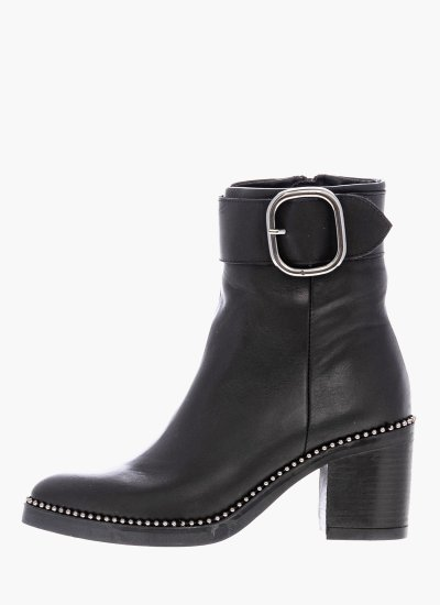 Women Boots 4317 Black Leather Alpe