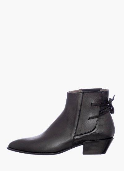 Women Boots 38 Black Leather B