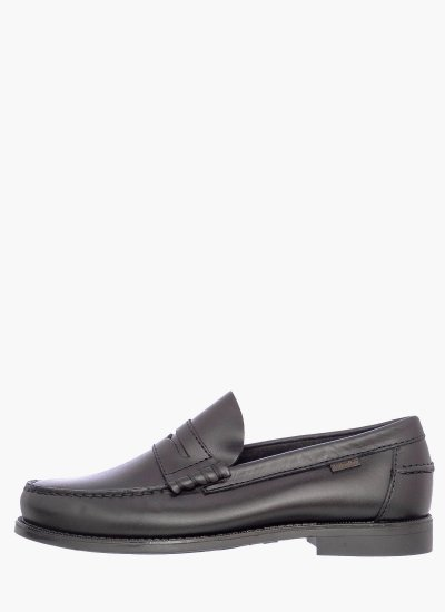 Men Moccasins 76100.D Black Leather Callaghan