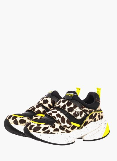Women Casual Shoes JOG.10 Leopard Pony LIU JO