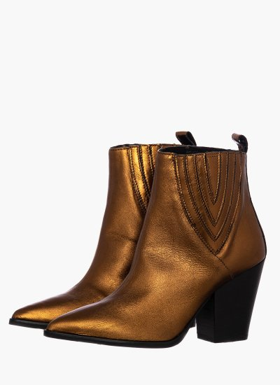 Women Boots 44501 Bronze Leather Janet & Janet