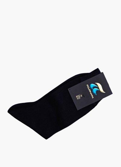 Men Socks 110C Blue Cotton Pournara