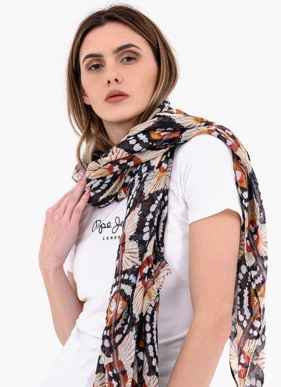 Women Scarves Kyra Multi Polyester Pepe Jeans