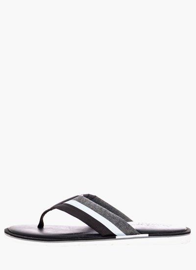 Men Flip Flops & Sandals Reflective Black Pepe Jeans