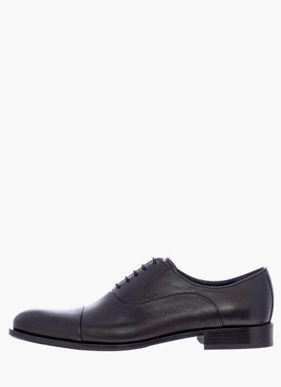 Men Shoes N5626 Black Leather Boss shoes