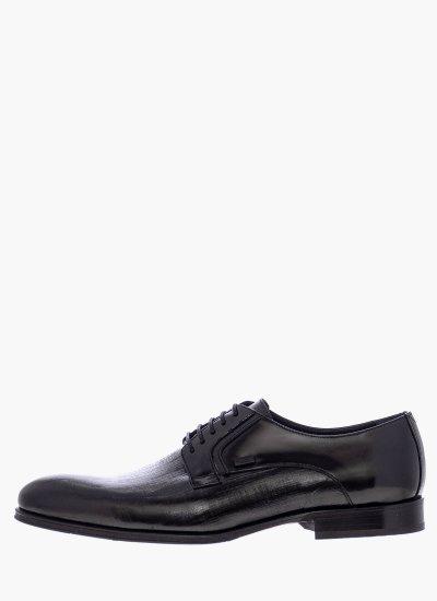 Men Shoes N6310.Glm Black Leather Boss shoes