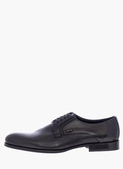 Men Shoes N6310.Rpt Black Leather Boss shoes