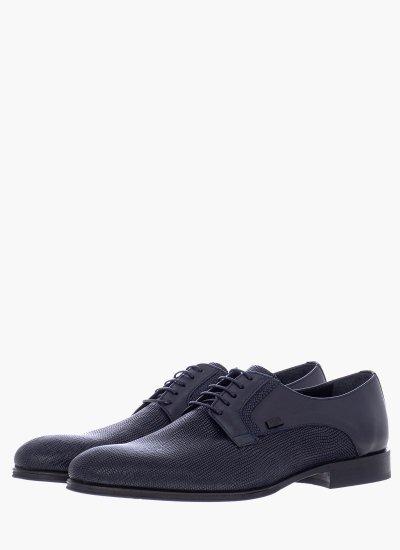 Men Shoes N6310.Rpt Blue Leather Boss shoes