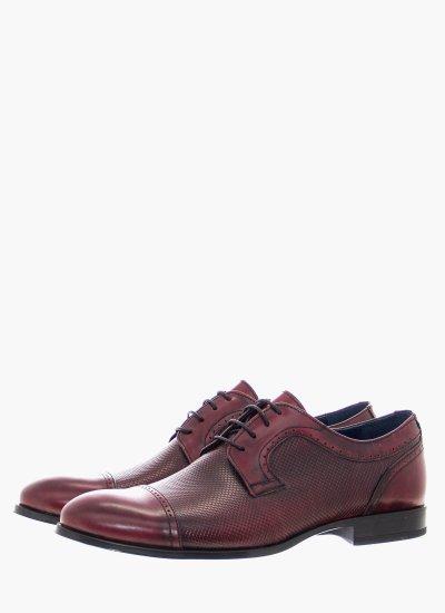 Men Shoes 1198 Bordo Leather Damiani