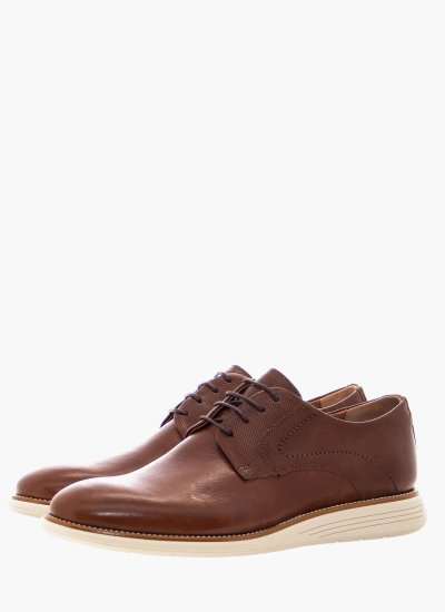 Men Shoes 2202 Brown Leather Damiani