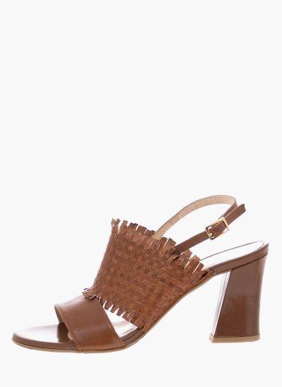 Women Sandal High 83 Tabba Leather B